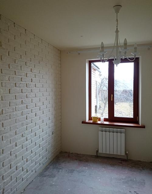 Кирпичная стена в интерьере своими руками фото 669